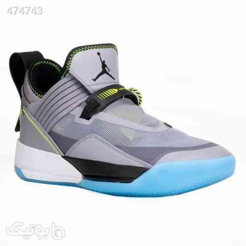 کفش بسکتبال نایک مردانه مدل ایرجردن Nike Air Jordan XXXIII SE طوسی 99 2020