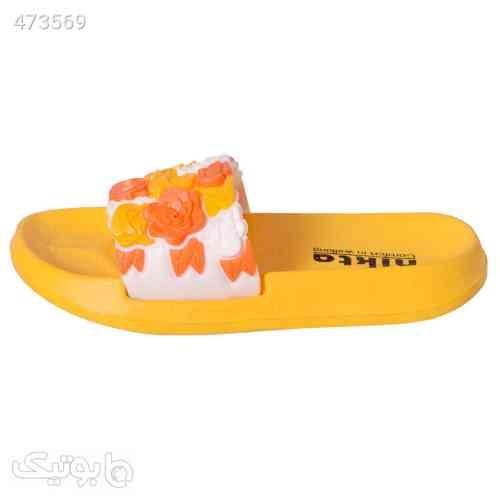 دمپایی دخترانه نیکتا کد YW-3555 زرد 99 2020