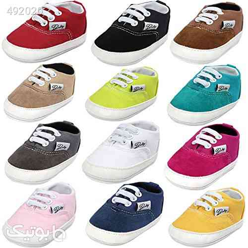 BENHERO Baby Boys Girls Canvas Toddler Sneaker Anti-Slip First Walkers Candy Shoes 0-24 Months 12 Colors آبی 99 2020