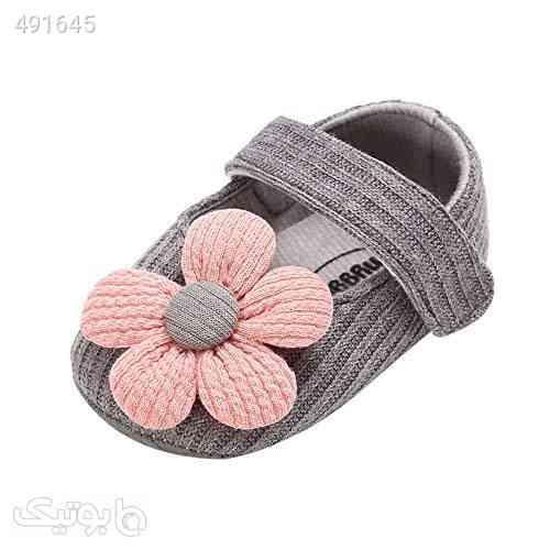 BOBORA Baby Girl Shoes Flower Non-Slip Soft Princess Mary Jane Dress Shoes نقره ای 99 2020