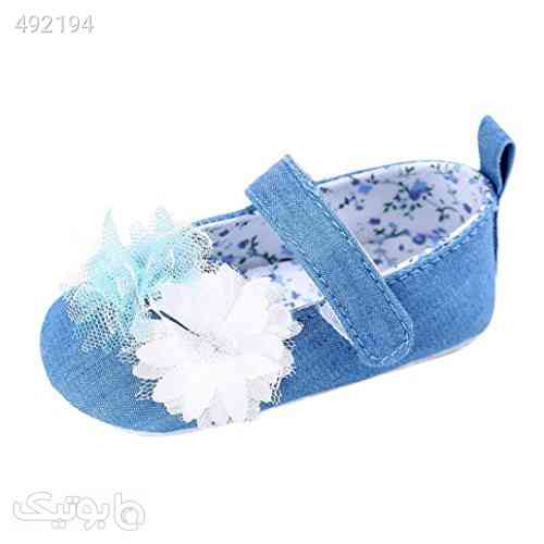 Elevin(TM) Baby Kids Girl Flower Princess Anti-slip Soft Sole Crib Prewalker Shoes فیروزه ای 99 2020