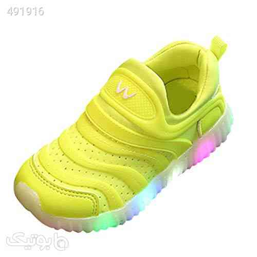 Flat Shoes for Little Kids/Big Kids Sales, Toddler Infant Baby Breathable LED Luminous Sport Shoes Sneakers for Size 15-18Months, Boys Girls Shoes زرد 99 2020