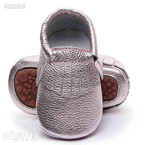 HONGTEYA Leather Baby Moccasins Hard Soled Tassel Crib Toddler Shoes for Boys and Girls طوسی 99 2020