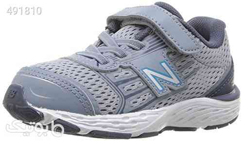 New Balance Kids' 680V5 Hook and Loop Running Shoe طوسی 99 2020
