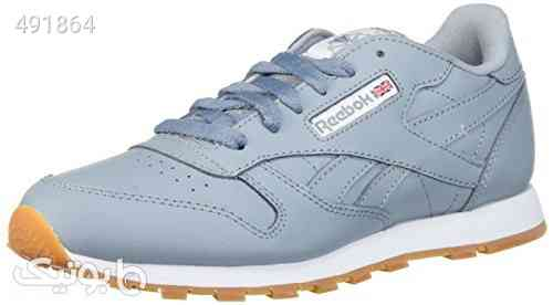 Reebok Kids' Classic Leather Gum Sneaker طوسی 99 2020