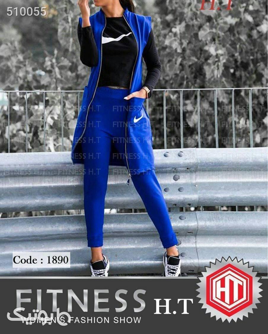 ست نایک آبی ست ورزشی زنانه