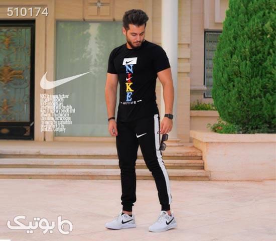ست تیشرت و شلوار Nike مدل Penser مشکی ست ورزشی مردانه