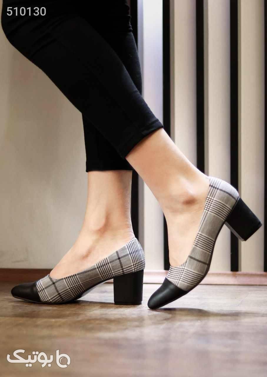 کفش زنانه شیک وزیباخوشپاراحت سبک مشکی كفش زنانه