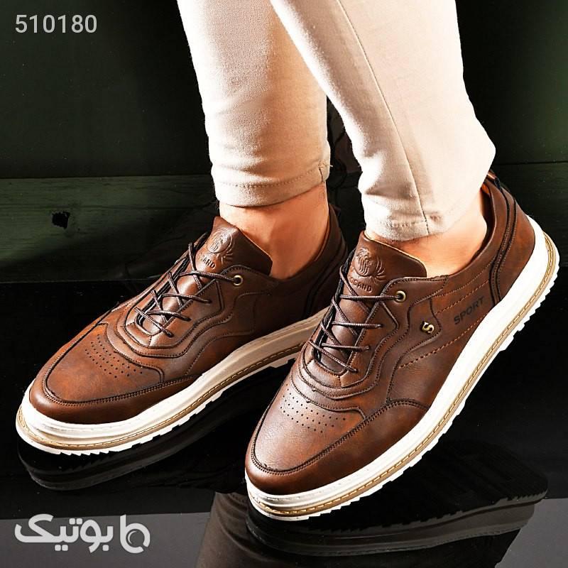 كفش مردانه مدل CHADO مشکی كفش مردانه