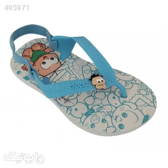 صندل نوزادی دوپه مدل 919 - 210 فیروزه ای کیف و کفش بچگانه