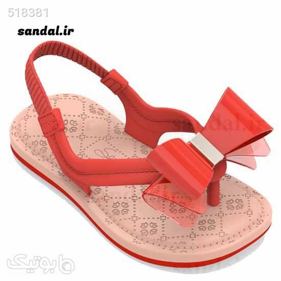 صندل نوزادی گرندا مدل 17207 - 90062 قرمز کیف و کفش بچگانه