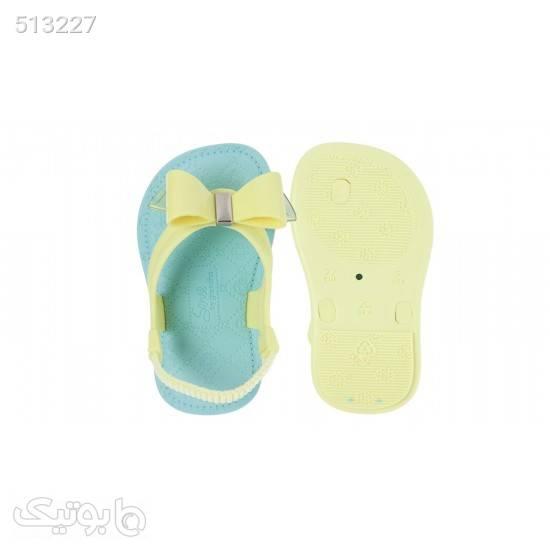 صندل نوزادی گرندا مدل 17207 - 90405 فیروزه ای کیف و کفش بچگانه