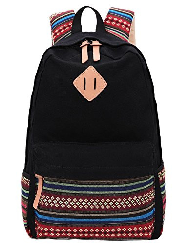https://botick.com/product/496863-Black-Canvas-School-Bag-Backpack-Girls,-Hmxpls-Bohemia-Boho-Style-Unisex-Fashionable-Canvas-Zip-Backpack-School-College-Laptop-Bag-for-Teens-Girls-Students-Casual-Lightweight-Travel-Daypack-Outdoor