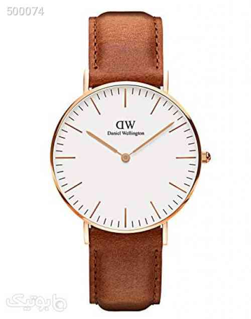 Daniel Wellington Classic Durham Watch, American Brown Leather Band قهوه ای 99 2020