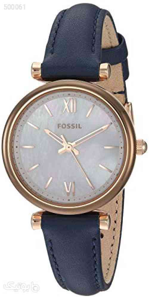 https://botick.com/product/500061-Fossil-Women's-Carlie-Mini-Stainless-Steel-and-Leather-Quartz-Watch
