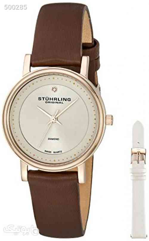 https://botick.com/product/500285-Stuhrling-Original-Women's-734LS2.SET.02-Symphony-Elite-Analog-Swiss-Quartz-Brown-Genuine-Leather-Watch-with-White-Interchangeable-Satin-Covered-Strap