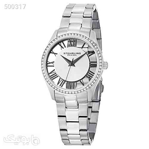Stuhrling Original Women's 750L.01 Vogue Ciara Swiss Quartz Stainless Steel Watch نقره ای 99 2020
