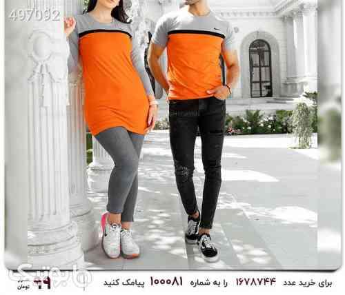 ست تیشرت و تونیک زوج نایک نارنجی 99 2020