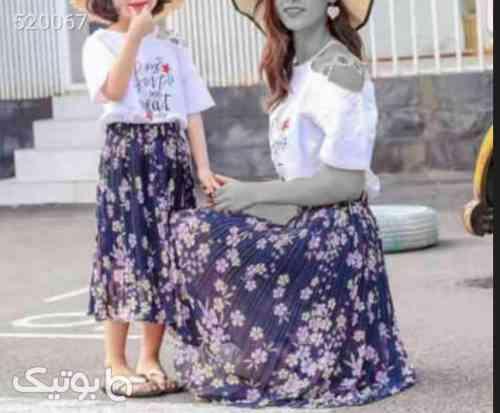 ست مادر دختر  فیروزه ای 99 2020