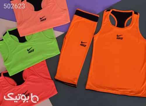 تاپ شلوارک باشگاهی فلامنت نارنجی 99 2020