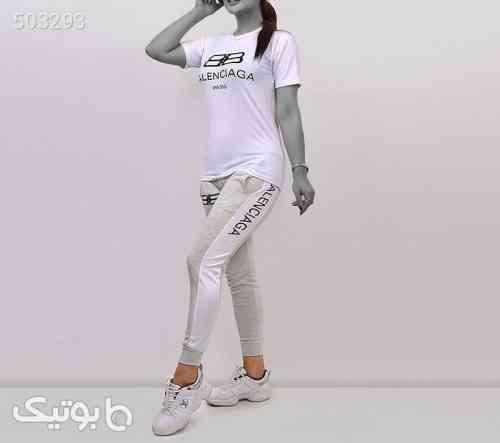 ست دخترانه مدل بالنسیگا سفید 99 2020
