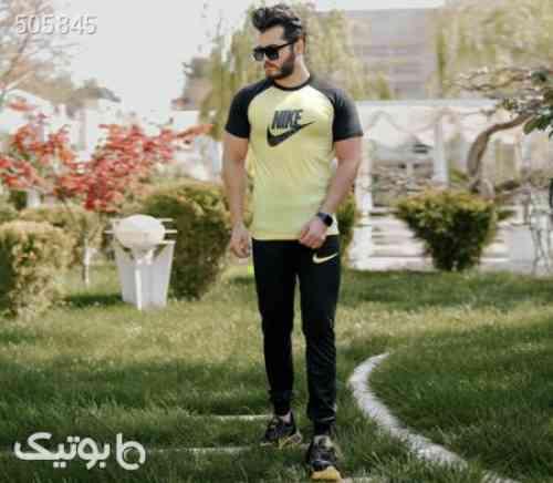 ست تیشرت وشلوار Nike مدل Adash (لیمویی) زرد 99 2020
