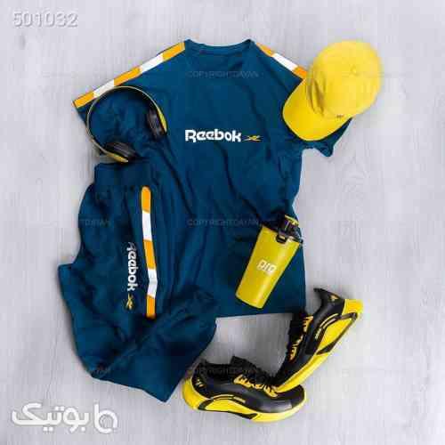 ست تیشرت و شلوار مردانه ریبوک مدل 14067 آبی 99 2020
