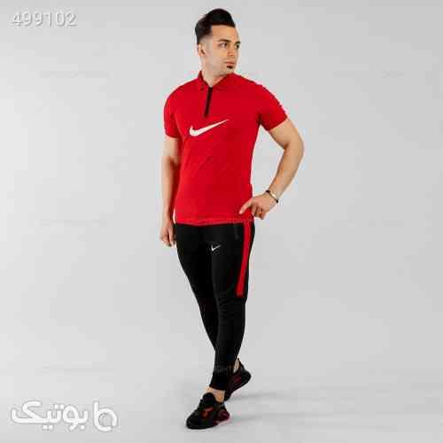 ست پولوشرت و شلوار مردانه Nike مشکی 99 2020