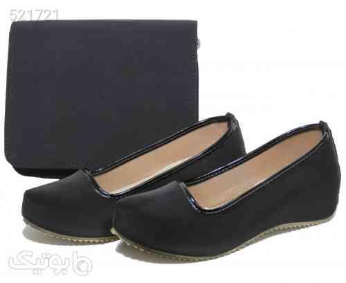 ست کیف و کفش زنانه کد PR800 مشکی 99 2020