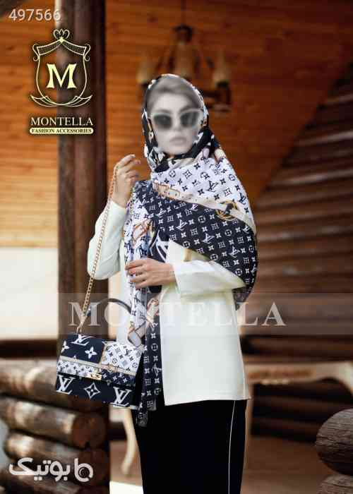 ست کیف و روسری  سفید 99 2020