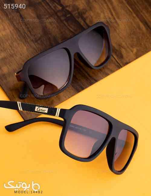 عینک آفتابی Cartier مدل 14482 مشکی 99 2020