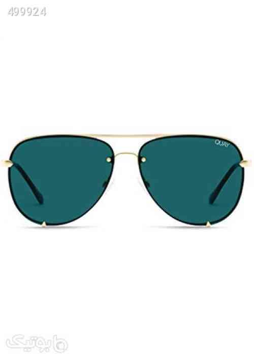 https://botick.com/product/499924-Quay-Australia-x-Desi-Perkins-Women's-High-Key-Rimless-Aviator-Sunglasses