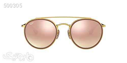 Ray-Ban Rb3647n Round Double Bridge Sunglasses صورتی 99 2020