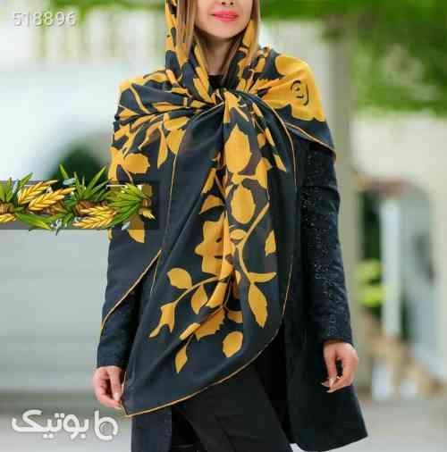 روسری نخی  زرد 99 2020