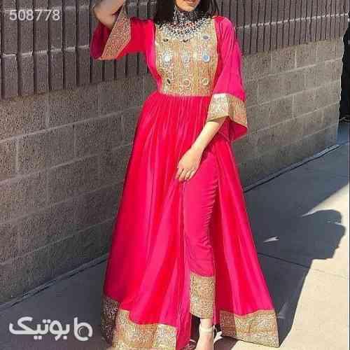 لباس افغانی قرمز 99 2020