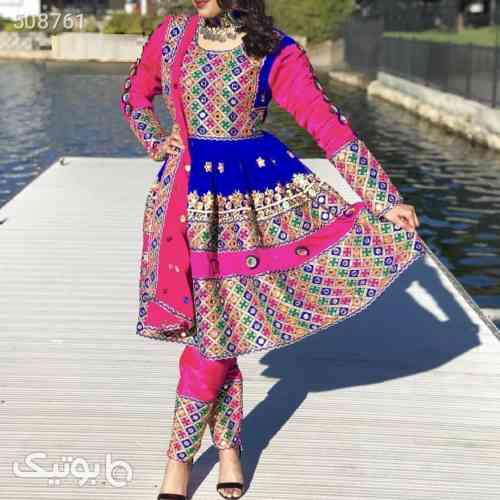 لباس محلی افغانستانی آبی 99 2020