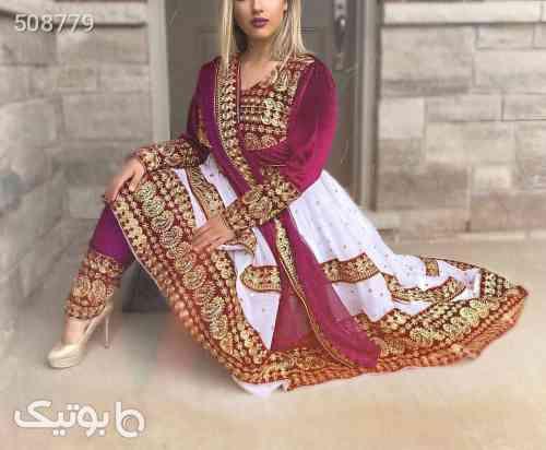 لباس محلی افغانی  قرمز 99 2020