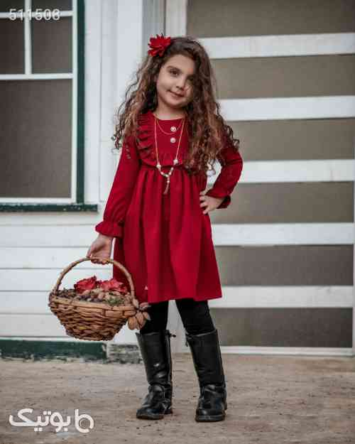 سارافون دخترانه  - لباس کودک دخترانه