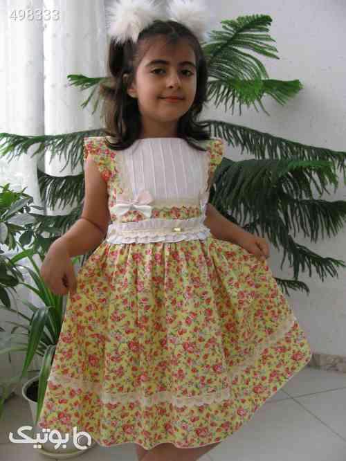 پیراهن دخترانه اسپانیایی - لباس کودک دخترانه