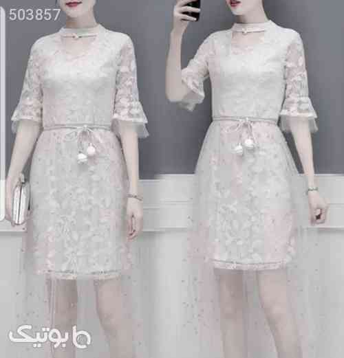 لباس مجلسی شیک سفید 99 2020