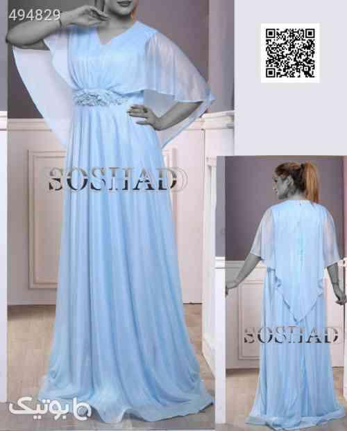 لباس مجلسی نامزدی شیک ولاکچری تنخورعالی آبی 99 2020