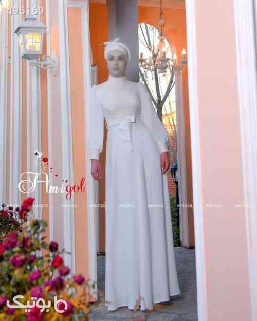لباس مجلسی سفید 99 2020