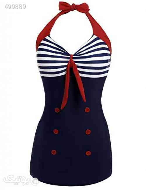 https://botick.com/product/499889-Ekouaer-Womens-Vintage-Striped-One-Piece-Swimsuit-Monokini-Bathing-Suit-Boyshort-Swimwear