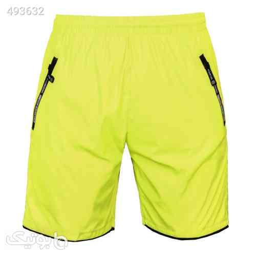 شلوارک شنا زرد 99 2020