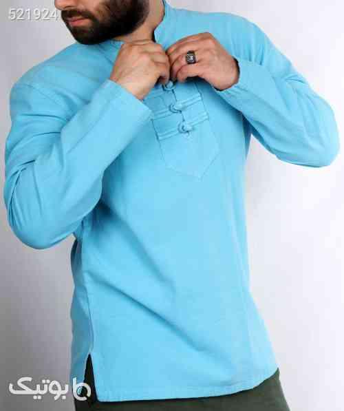پیراهن الیاف طبیعی چهار گره - پيراهن مردانه