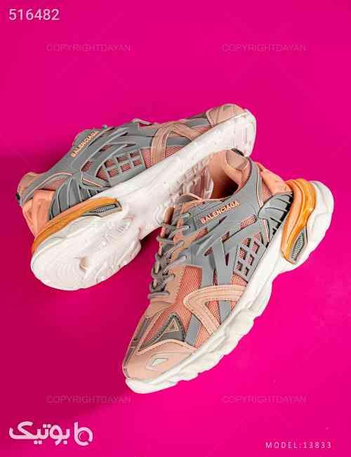 کفش ورزشی زنانه Balenciaga مدل 13833 صورتی 99 2020