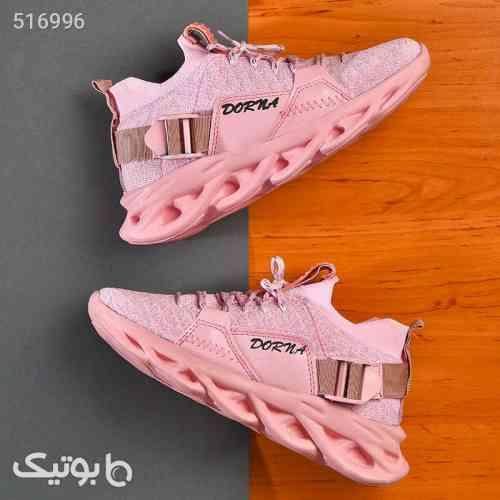 کفش  کتانی دختراته  dorna صورتی 99 2020