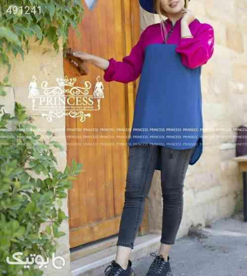 هودی تابستانی کلاهدار مدل لیندا آبی 99 2020