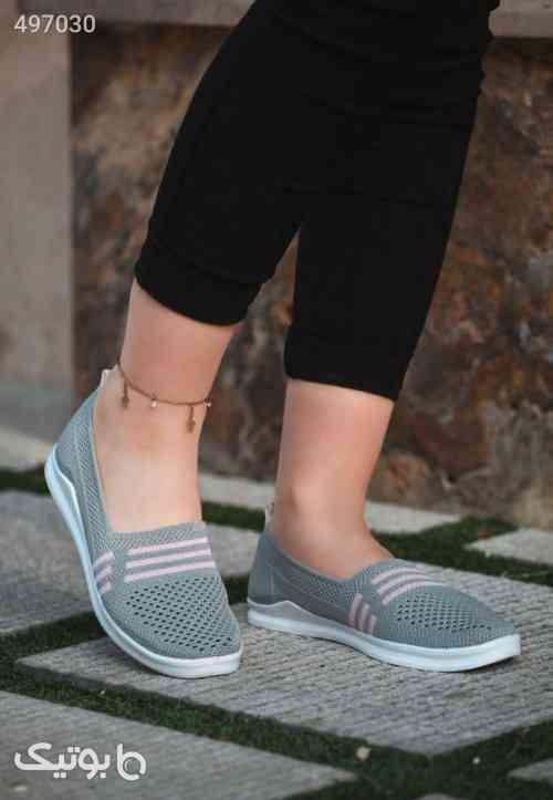 کفش بافتی تابستانه شیک وخاص پرفروش نقره ای 99 2020