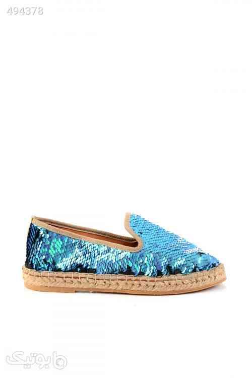 کفش لژ حصیری آبی زنانه برندکد 3685190 آبی 99 2020
